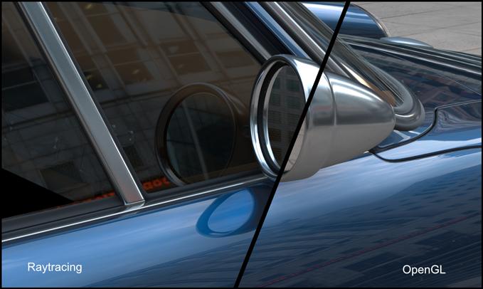 raytracing rendering