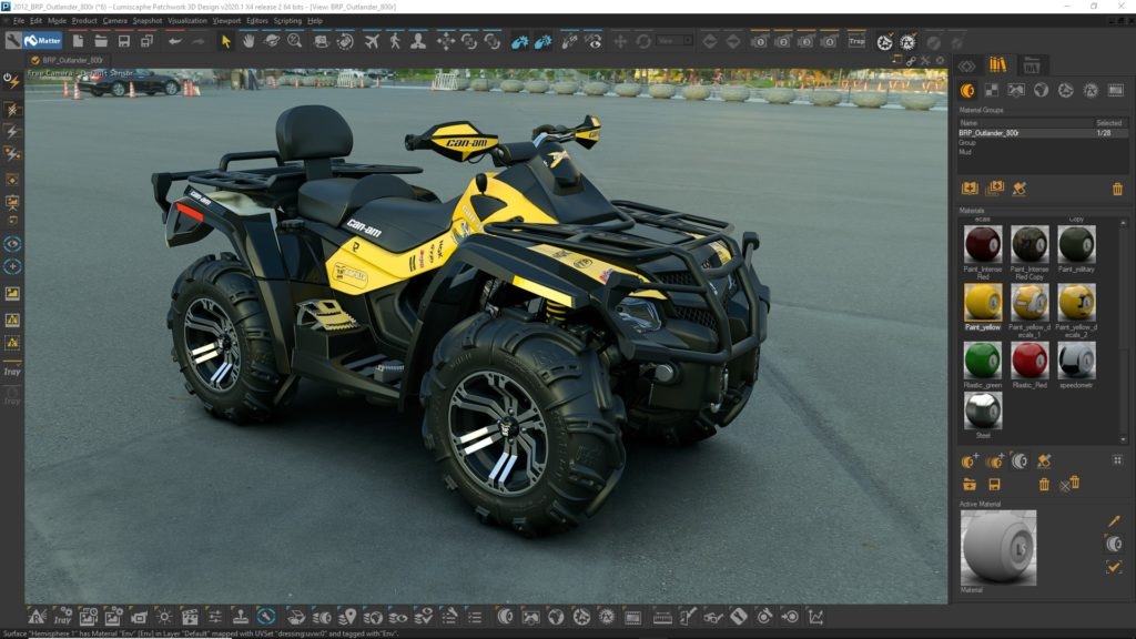 real time 3d rendering software